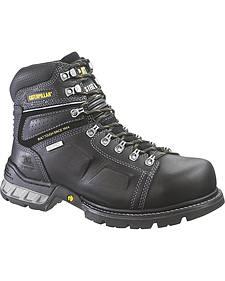 Caterpillar Men's Endure Waterproof Work Boots - Steel Toe
