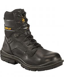 "Caterpillar Men's Flexion Generator 8"" Waterproof Work Boots - Steel Toe"