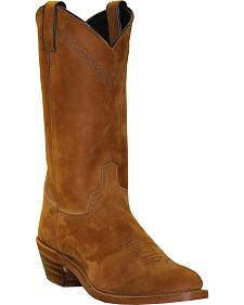 Abilene Boots Men's Pull-On Western Work Boots