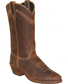 Abilene Boots Men's Cowhide Western Work Boots - Medium Toe