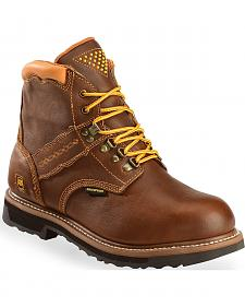 Dan Post Gripper Zipper Waterproof Lacer Boots