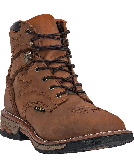 Dan Post Flame Waterproof Lacer Work Boots - Steel Toe