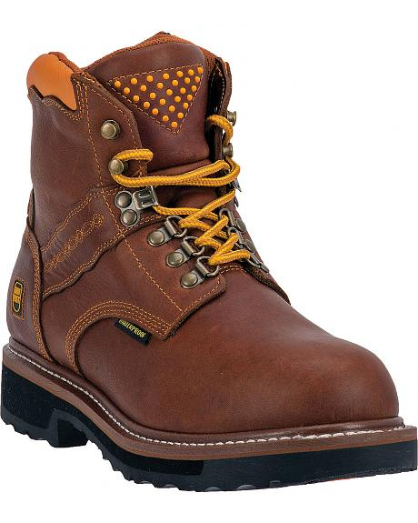Dan Post Gripper Zipper Waterproof Lacer Boots - Steel Toe