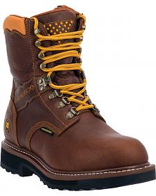 Dan Post Scorpion Waterproof Lacer Zippered Work Boots - Steel Toe
