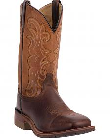Dan Post Lingbergh Cowboy Boots - Square Toe