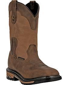 Dan Post Everest Waterproof Work Boots - Steel Toe