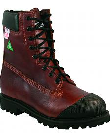 Boulet Grizzly Mountain Extreme Abrasion Cap Work Boots - Steel Toe