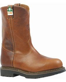 Boulet Grizzly Sand Work Boots - Steel Toe