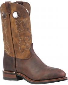 Boulet Laid Back Copper Hillbilly Golden Work Boots - Steel Toe