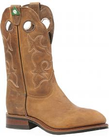 Boulet Hillbilly Golden Western Work Boots - Steel Toe