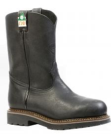 Boulet Everest Black Work Boots - Steel Toe