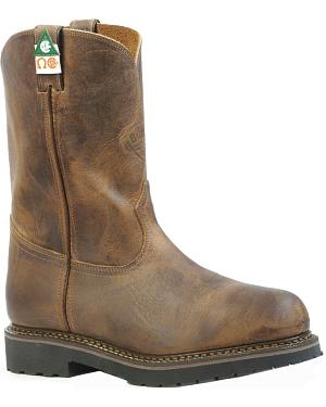 Boulet Hillbilly Golden Work Boots - Steel Toe