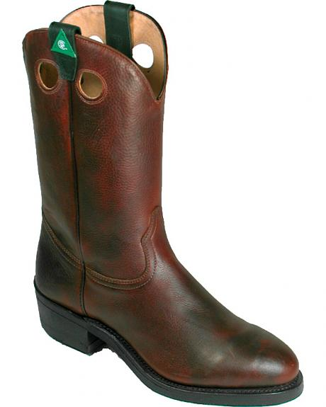 Boulet Grizzly Mountain Western Work Boots - Steel Toe