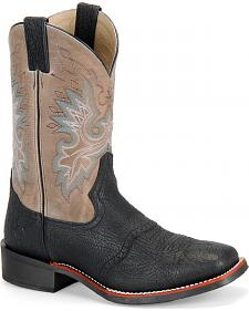Double H Men's Saddle Vamp Western Boots - Square Toe