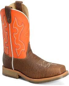Double H Men's Roper Western Work Boots - Composite Toe