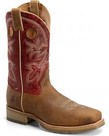 Double H Men's ICE Roper Western Boots - Square Toe