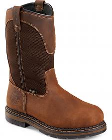 Red Wing Irish Setter Ramsey Pull-On Work Boots - Aluminum Toe