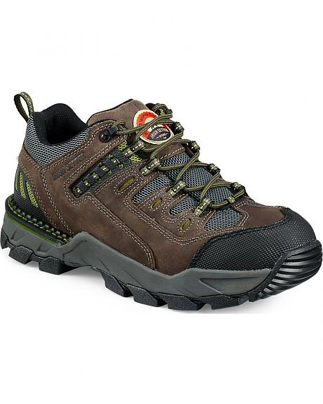 Red Wing Irish Setter Two Harbors Hiker Work Boots - Aluminum Toe
