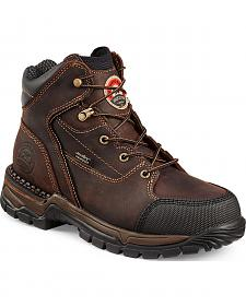 Red Wing Irish Setter Women's Two Harbors Hiker Work Boots - Aluminum Toe