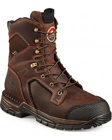 Red Wing Irish Setter Two Harbors Waterproof Hiker Work Boots - Steel Toe
