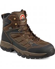 Red Wing Irish Setter Ely Waterproof Hiker Work Boots - Aluminum Toe