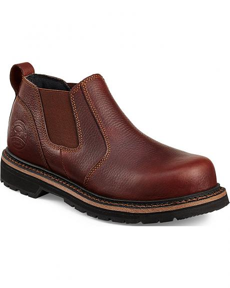 Red Wing Cass Slip-On Work Boots - Steel Toe
