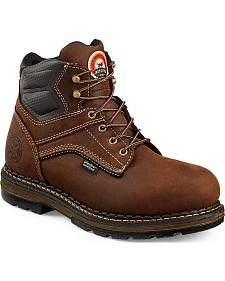 "Red Wing Irish Setter Men's Ramsey 6"" Work Boots - Soft Round Toe"