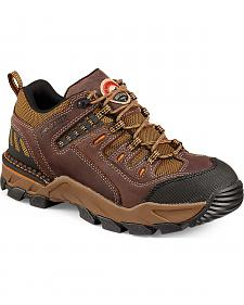 Red Wing Irish Setter Two Harbors Hiker Abrasion-Resistant Work Boots - Soft Toe