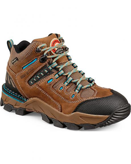 Red Wing Irish Setter Two Harbors Hiker Work Boots - Soft Toe