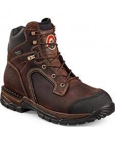 Red Wing Irish Setter Two Harbors Hiker Waterproof Work Boots - Soft Round Toe