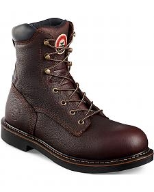 Red Wing Irish Setter Farmington Work Boots - Soft Round Toe