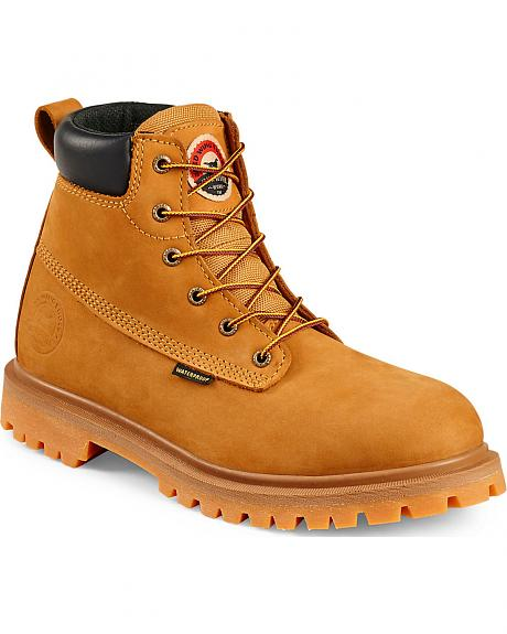 Red Wing Irish Setter Hopkins Insulated Work Boots -  Soft Round Toe