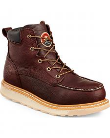 "Red Wing Irish Setter Ashby 6"" Work Boots - Round Toe"