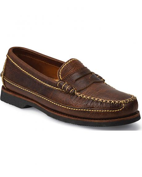 Chippewa Men's Rugged Casual Bison Penny Loafers