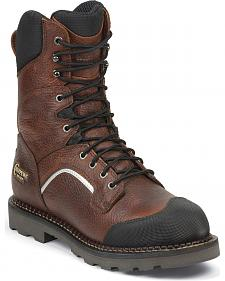 "Chippewa Men's 9"" Fall Flame Waterproof XOG Work Boots - Composite Toe"