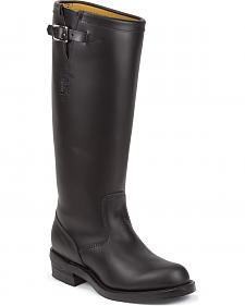 "Chippewa Men's 17"" Strapless Trooper Boots - Steel Toe"
