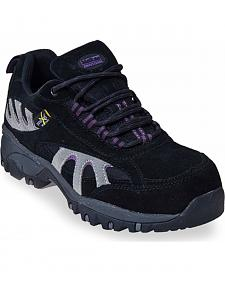 McRae Women's Poron XRD Met Guard Black Hiker Boots - Composite Toe