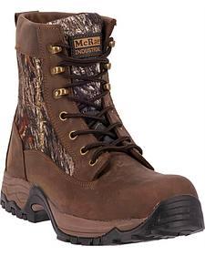 """McRae Men's Camo 7"""" Lace Up Work Boots - Composite Toe"""