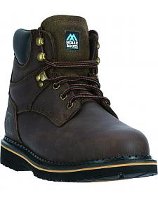"McRae Men's 6"" Lace-Up Work Boots - Steel Toe"