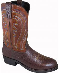 Smoky Mountain Men's Workman Leather Western Boots - Round Toe