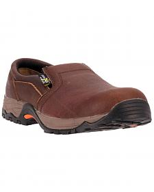 McRae Men's Poron XRD Met Guard Slip-On Work Shoes - Composite Toe