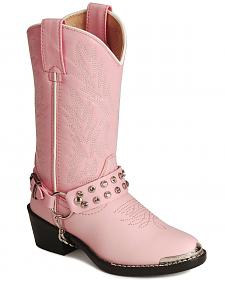 Durango Girls' Harness Boots