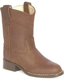 Old West Children's Roper Cowboy Boots