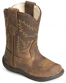 Old West Toddler Boys' Crazy Horse Boots