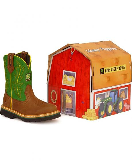 John Deere Toddler Boys' Johnny Poppers Boots