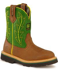John Deere Children's Johnny Poppers Boots at Sheplers