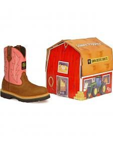 John Deere Children's Johnny Poppers Boots