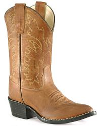 Childrens' Old West Cowboy Boots - Pointed Toe at Sheplers