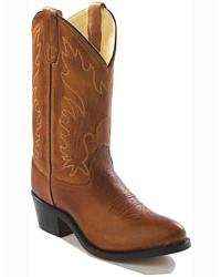 Youth Old West Calfskin Cowboy Boots - Pointed Toe at Sheplers