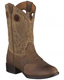 Ariat Youth Heritage Stockman Boots